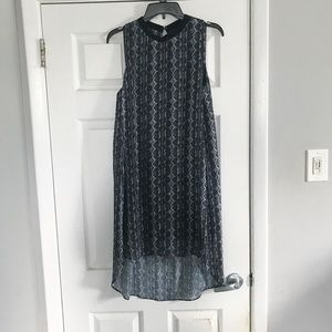 RACHEL Rachel Roy Petra Snakeskin Print Dress